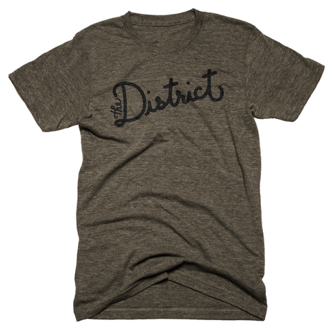 The District Script Tee
