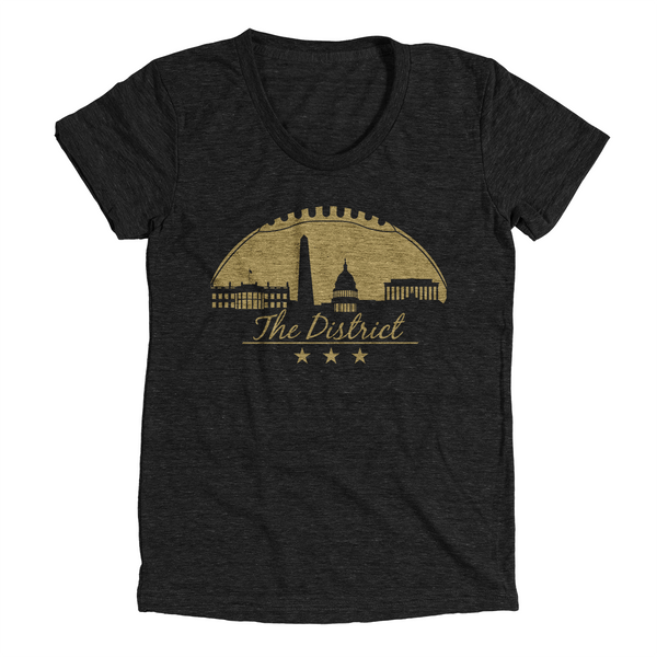Washington DC Football City (Black)