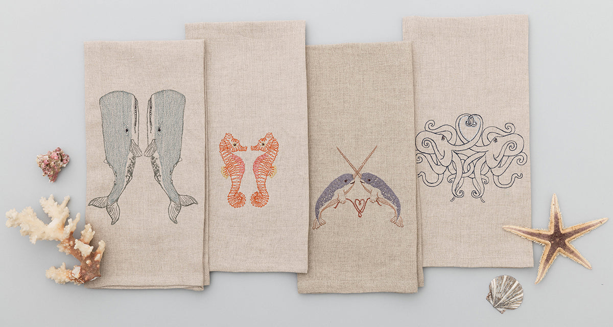 Coral & Tusk Big Sur Tea Towels