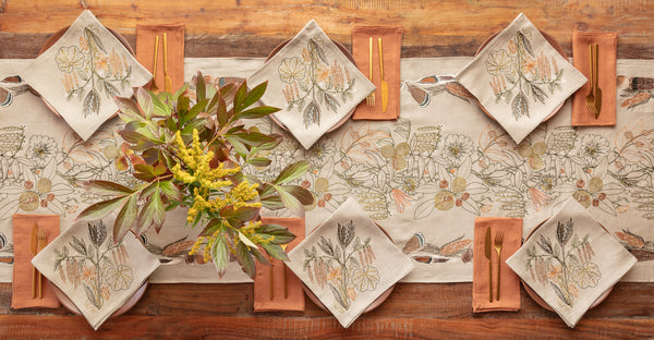 Coral & Tusk Abundance Table Linens