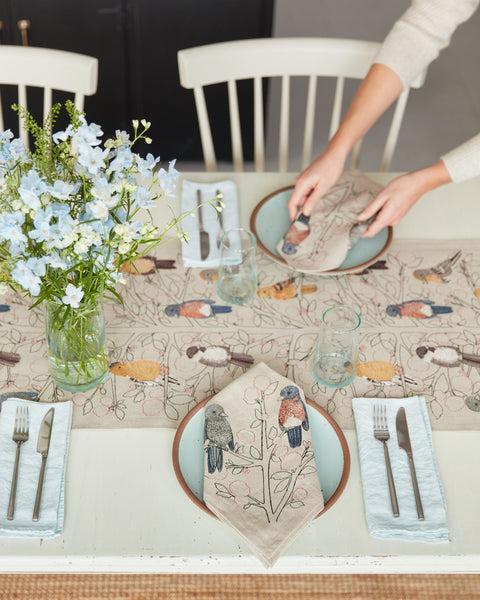 Set the table with Coral & Tusk