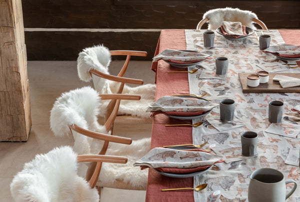 Coral & Tusk Thanksgiving Kinship Table