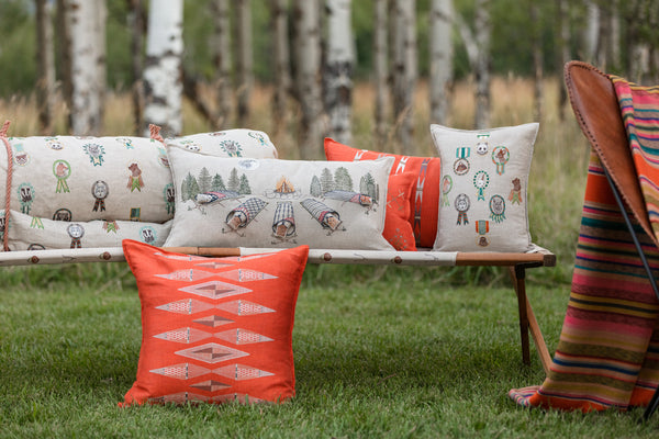 Coral & Tusk camp collection pillows