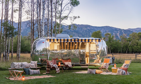 Coral & Tusk FW19 Collection with Silver Bungalow Airstream