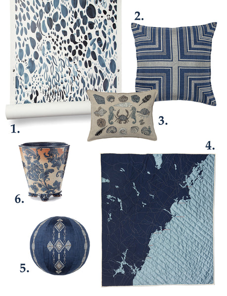 Classic Blue Color of the Year Design Picks