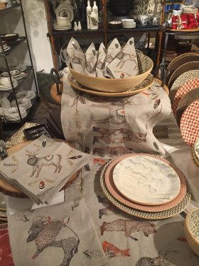 Kuhl-Linscomb Coral & Tusk Fall Table