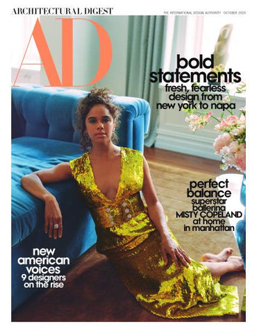 Architectural Digest October 2020 Cover