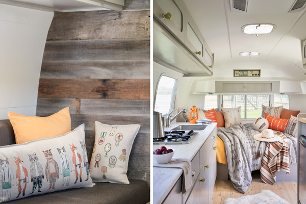 Coral & Tusk Silver Bungalow Airstream Decor