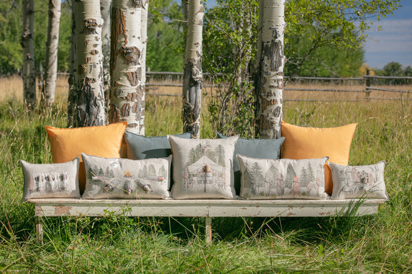 Coral & Tusk Camping Collection Pillows
