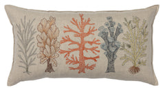 "Coral & Tusk Coral Studies Pillow 14"" x 26"""