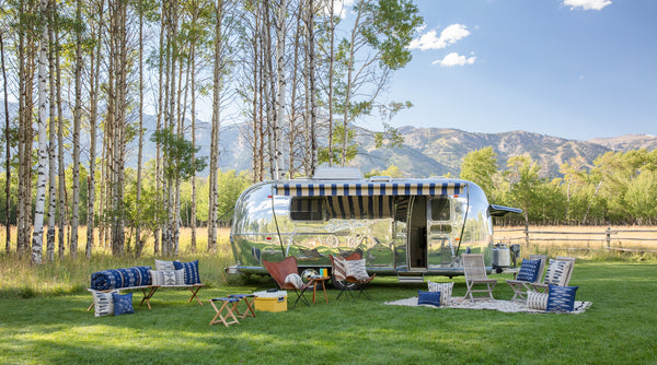 Coral & Tusk fall collection with The Silver Bungalow Airstream