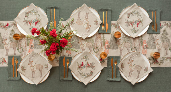 Coral & Tusk Christmas Cheer Table Linens