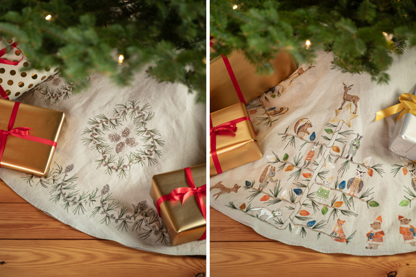 Coral & Tusk Tree Skirts