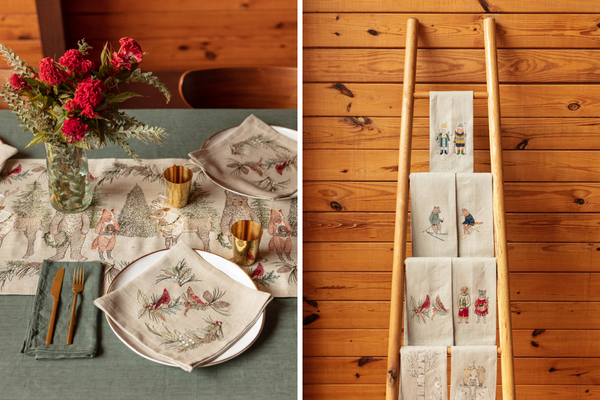 Coral & Tusk Table Linens Holiday