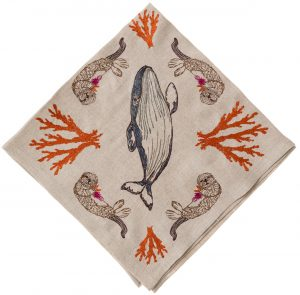 Coral Forest Dinner Napkin