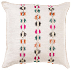 Coral and Tusk Souk Embroidered Sequin Decorative Pillow