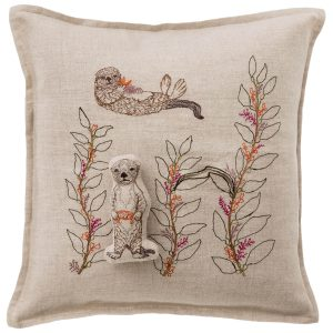 Sea Otter Pocket Pillow