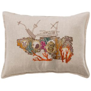 Ocean Floor Pocket Pillow