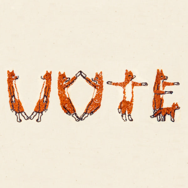 Coral & Tusk Vote Foxes