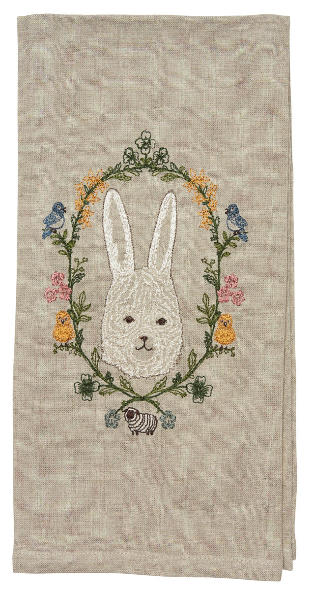 Garland Bunny Tea Towel