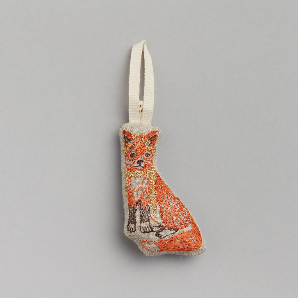 Fox Tree Trimmer Ornament