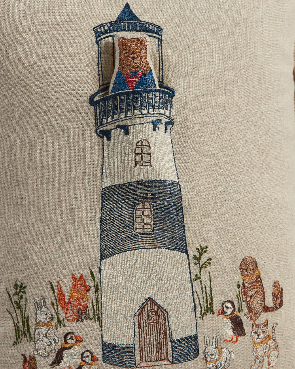 Lighthouse Friends Pocket Pillow