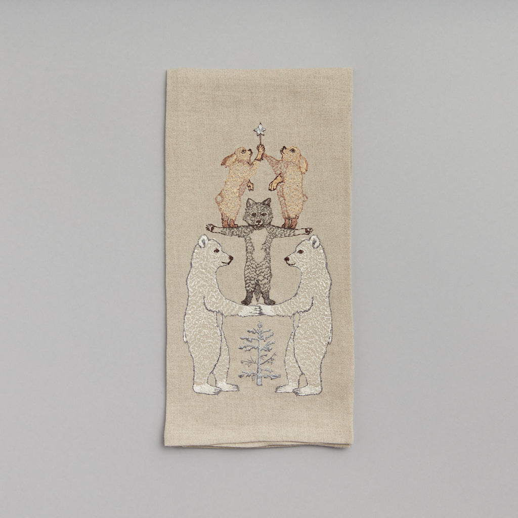 Arctic Tree Tea Towel