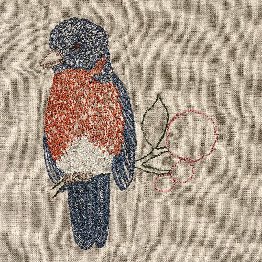 Eastern Bluebird Tea Towel