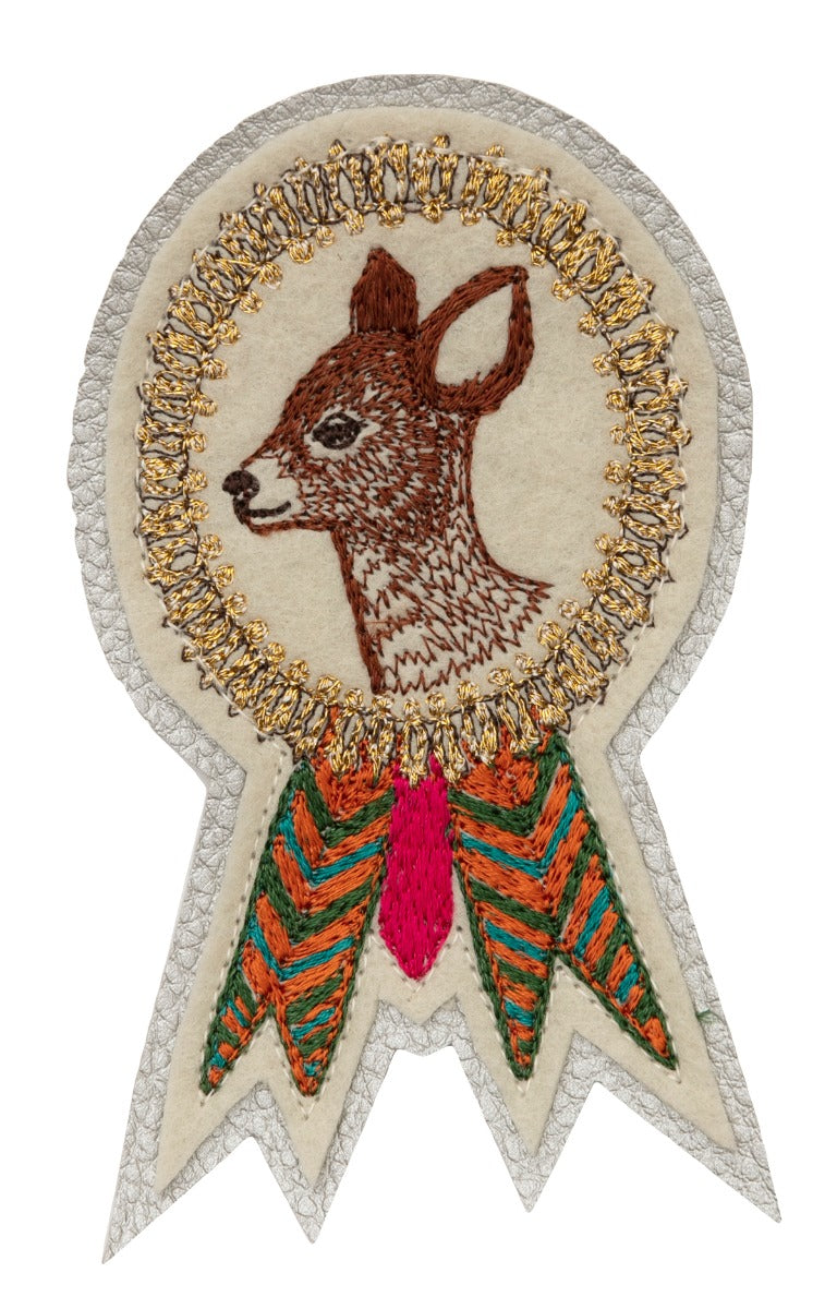 Deer Badge Pin