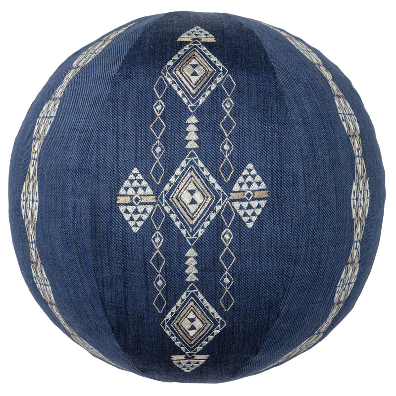 Berber Indigo Sphere Pillow