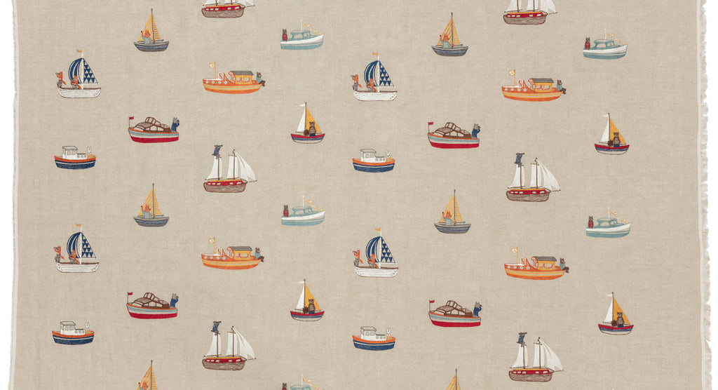 Boats Fabric Yardage