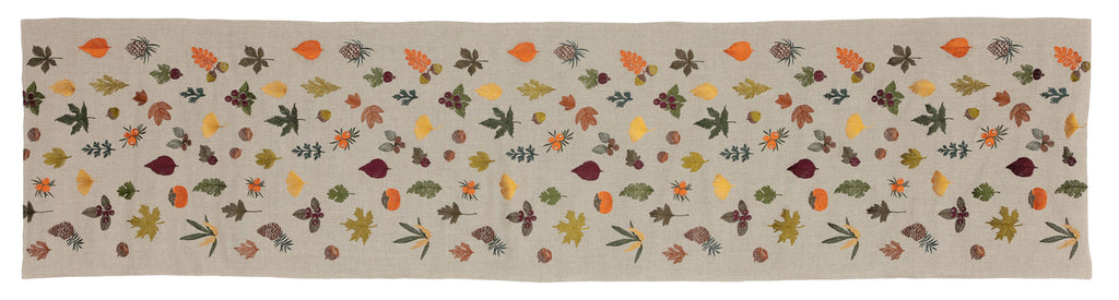 Fall Garden Table Runner