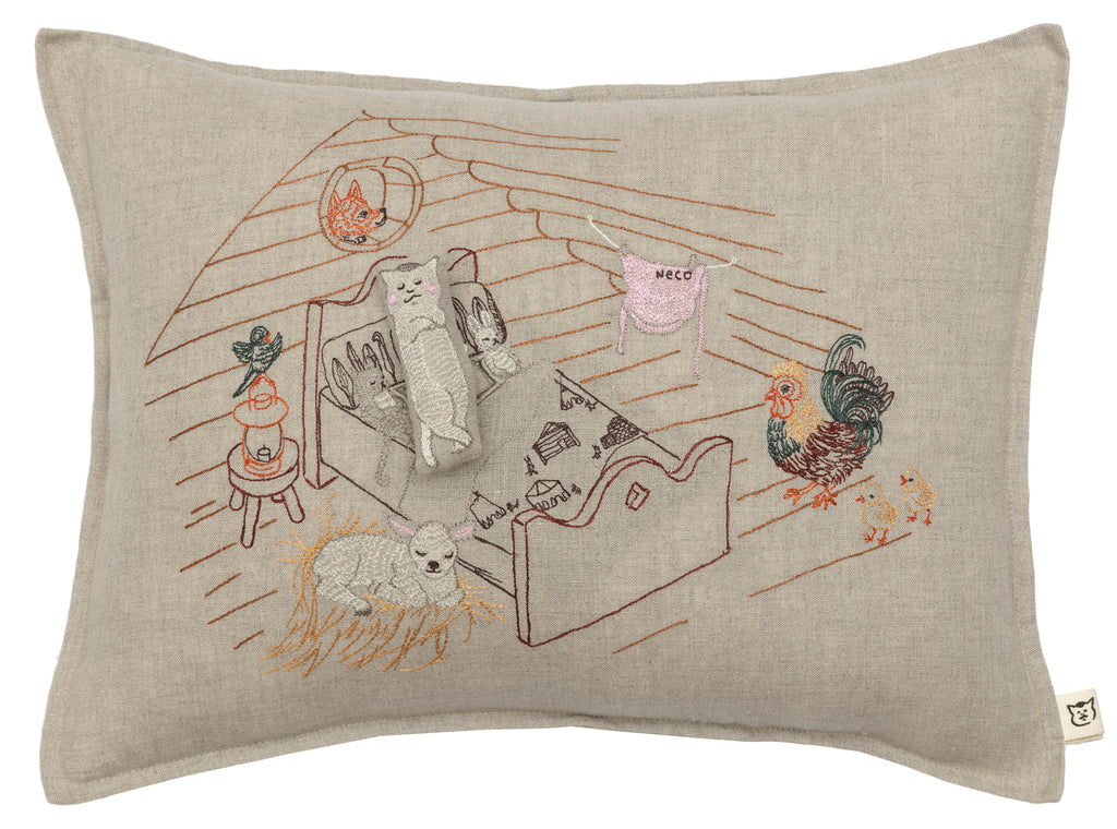 Coral & Tusk x Nekomura san Pocket Pillow