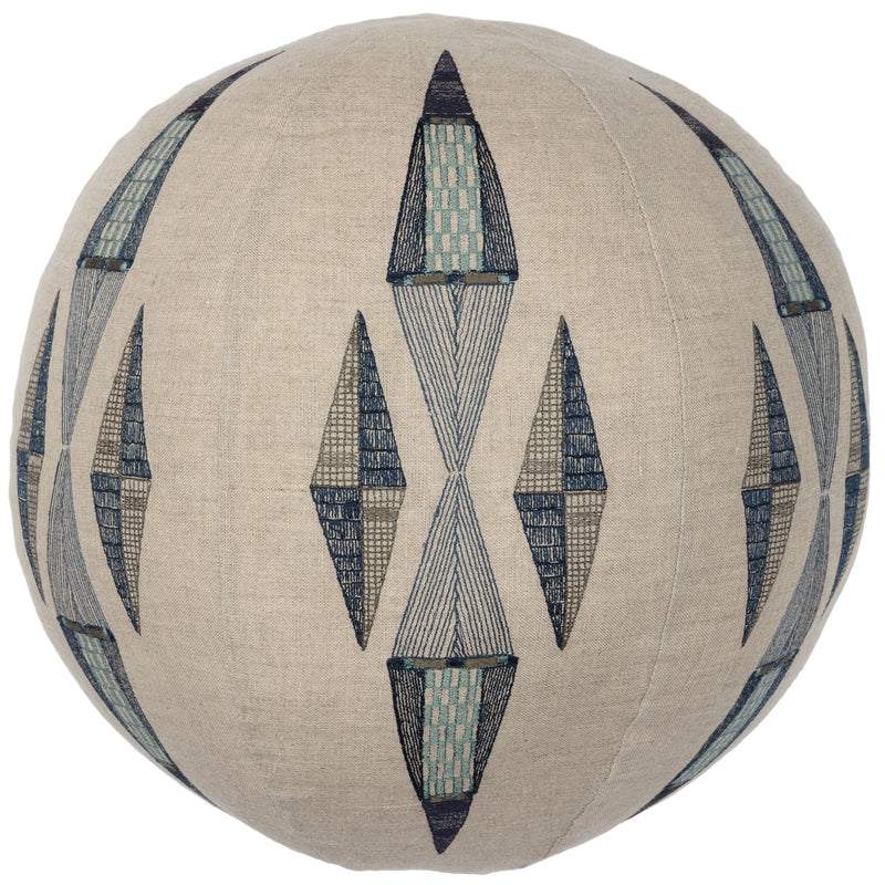 Cardinal Points Sphere Pillow
