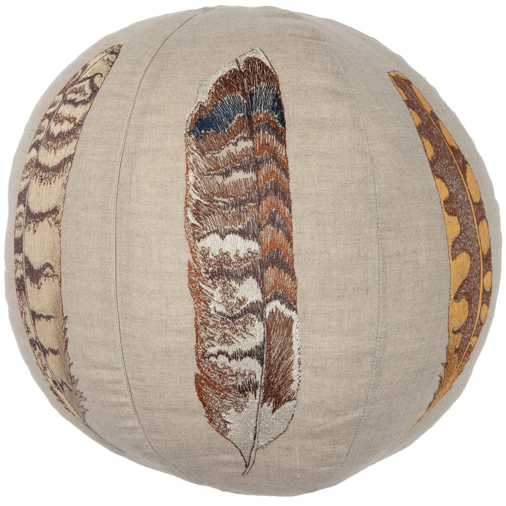 Feather Sphere Pillow