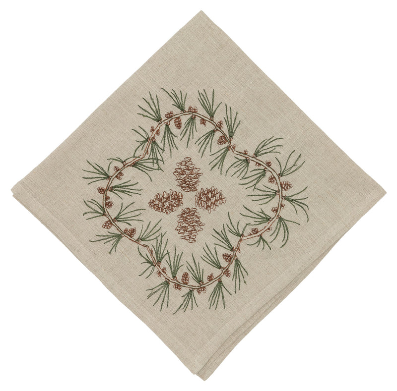 Pinecone Dinner Napkin