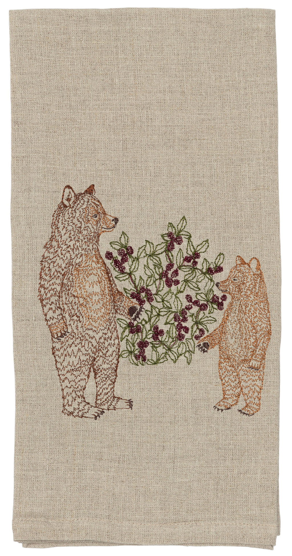 Briar Bears Tea Towel