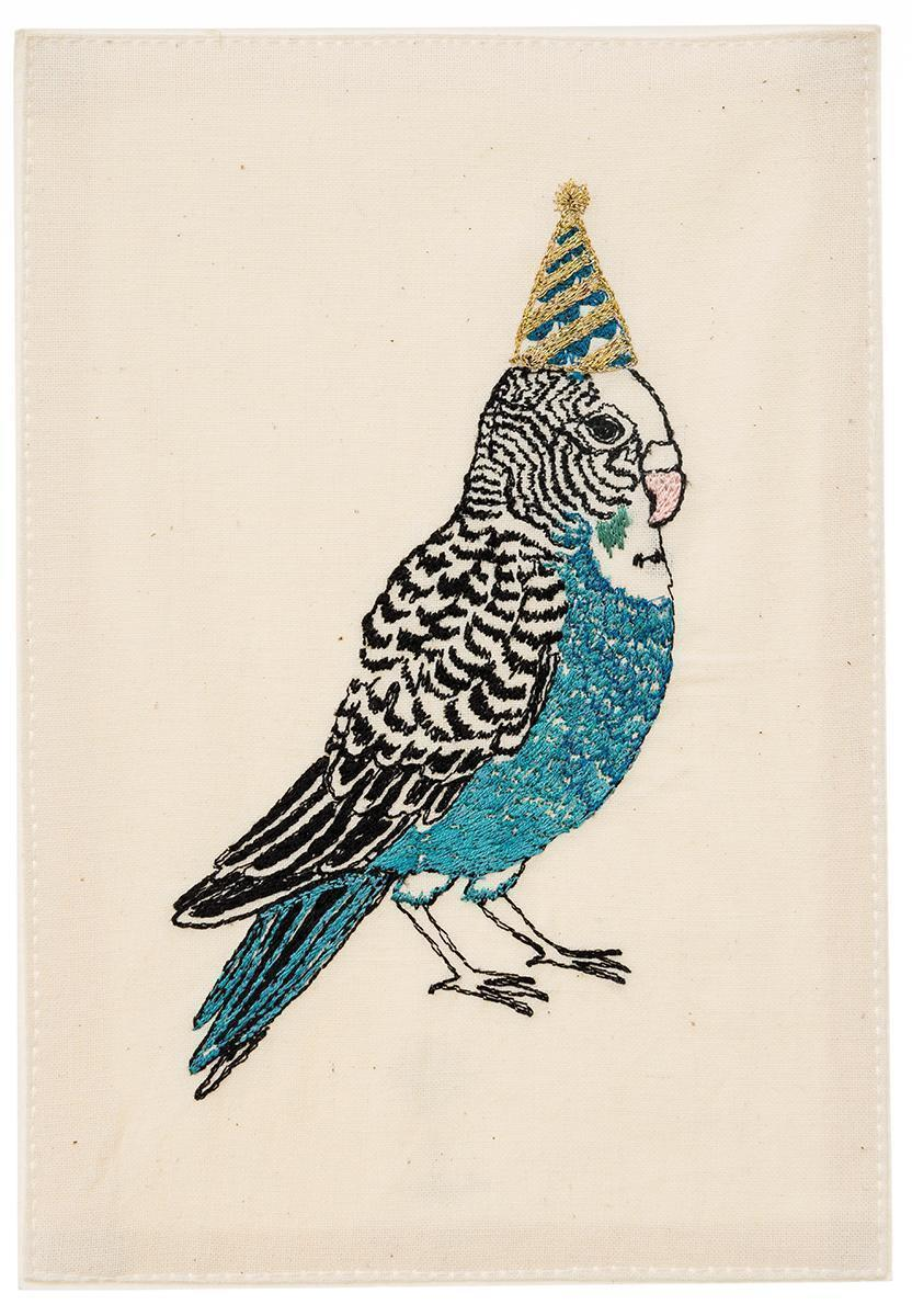 Birthday Parakeet Card