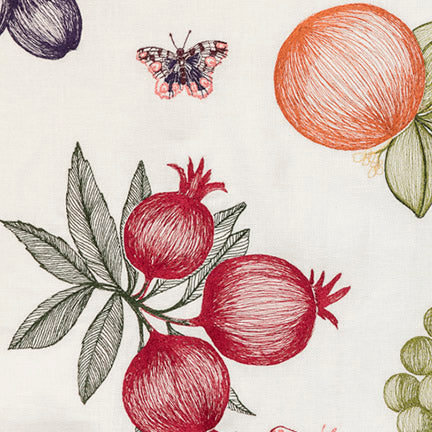 Fruits & Butterflies Yardage