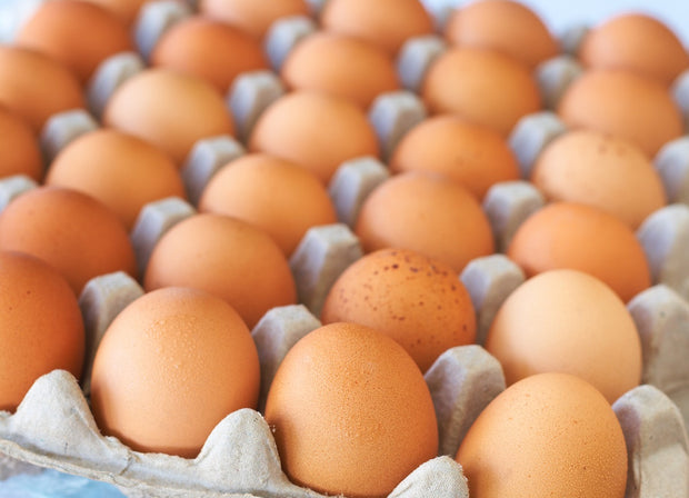 Free Range Brown Chicken Eggs