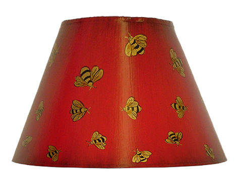Hand-Painted Empire Lampshades
