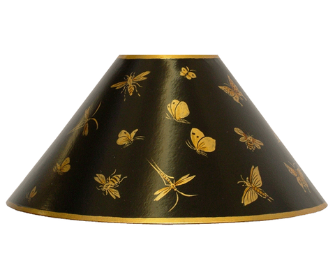 Hand-Painted Coolie Lampshades