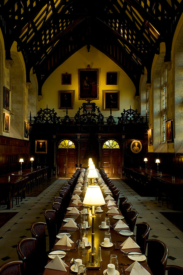1618 Dining Hall, Exeter College, Oxford