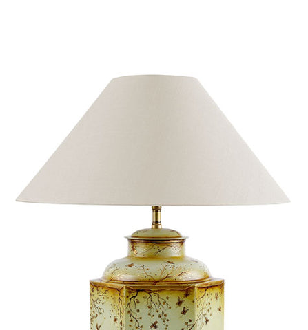 Coolie Laminated Silk Lampshade