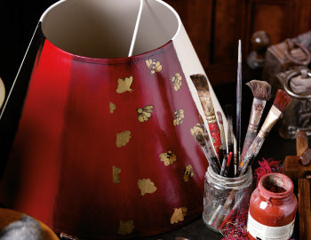 Hand-Painted Lampshades