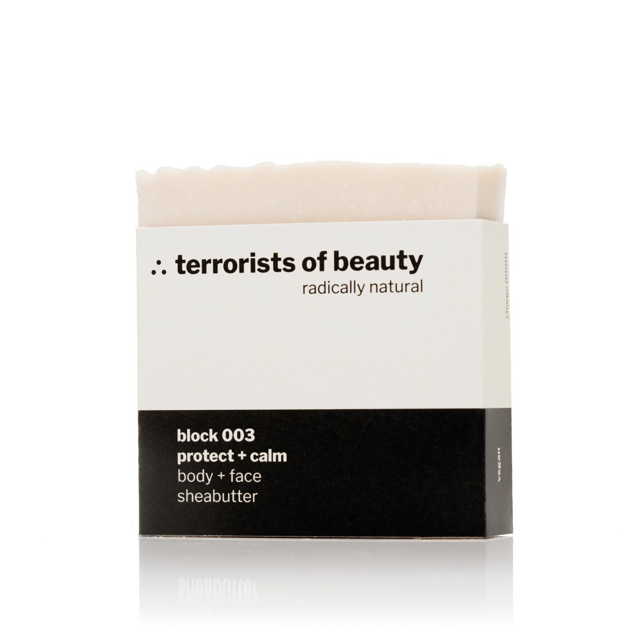 terrorists of beauty blockseife | block 003 protect + calm - LANGBRETT