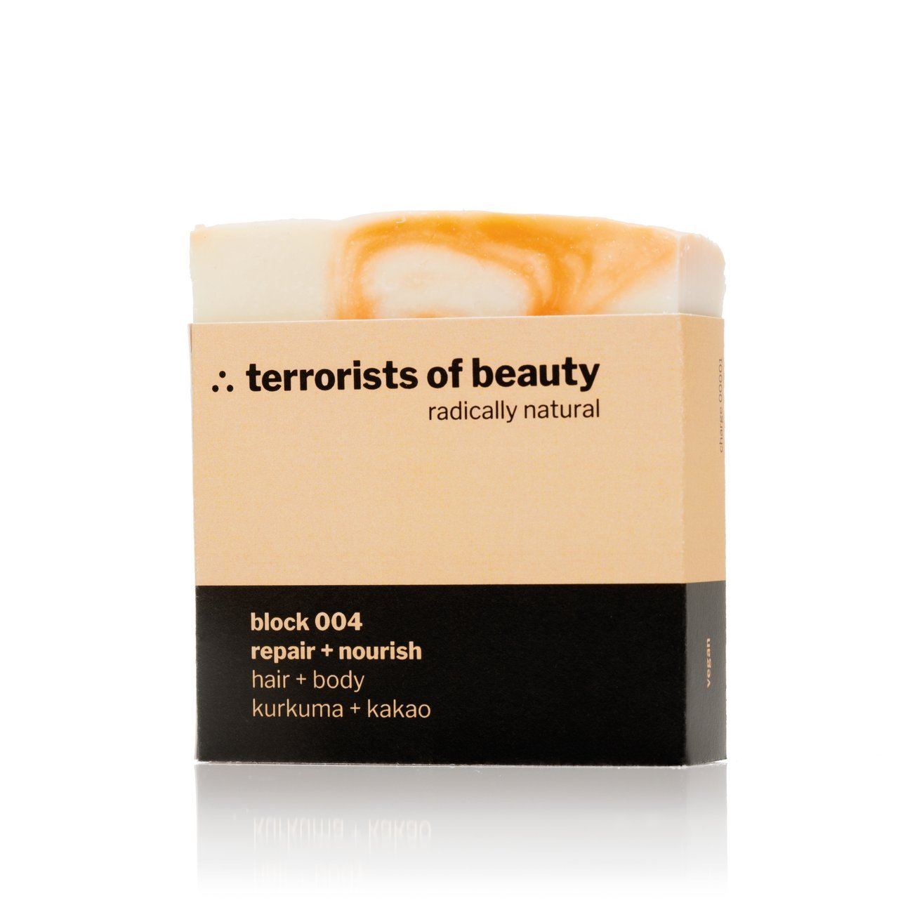 terrorists of beauty blockseife | block 004 repair + nourish - LANGBRETT