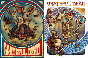 GRATEFUL DEAD by Zeb Love and DEAD & CO. - ORLANDO by AJ Masthay On Sale Info!