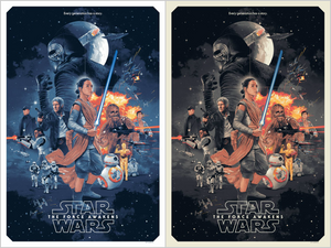 STAR WARS: THE FORCE AWAKENS by Gabz On Sale Info!