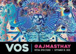 AJ MASTHAY: VIRTUAL OPEN STUDIO - SHOW INFO!